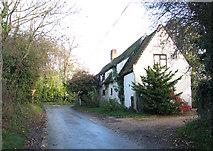 TG2103 : Cottage on the corner of Mangreen Lane by Evelyn Simak