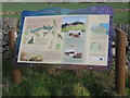 NZ3863 : Information board, Cleadon Hill by peter robinson
