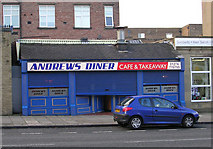 SE1437 : Andrews Diner - Otley Road by Betty Longbottom