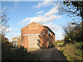 TG1901 : Barn beside footpath east of St Mary Magdalen church by Evelyn Simak