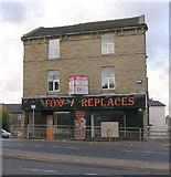 SE1437 : Foxy Fireplaces - Otley Road by Betty Longbottom