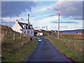 NG2841 : Cottages in Dunanellerich by Richard Dorrell