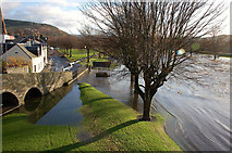 NT2540 : North side of the Tweed, Peebles by Jim Barton