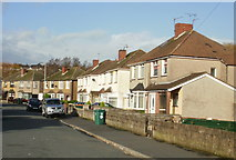 ST3487 : Thompson Avenue, Liswerry, Newport by Jaggery