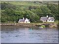 NM6844 : Caolas na h-Àirde (entrance to Loch Aline) by Michael Jagger