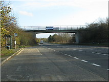 SU5894 : Bridge over the A4074 near Dorchester by Sarah Charlesworth