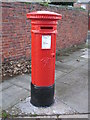 NZ3264 : Victorian postbox, Bede Burn Road / Dillon Street by Mike Quinn