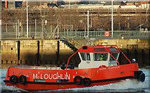 "J3474 : The ""Leanne McLoughlin"" at Belfast by Albert Bridge"