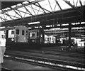 TQ3367 : Interior, Selhurst Car Depot by Dr Neil Clifton