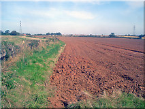 SK4864 : Ploughed field east of Rowthorne by Trevor Rickard