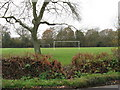 TQ1328 : Football pitch adjacent to Itchingfield school by Dave Spicer