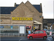 NZ0516 : Morrisons Supermarket by Philip Barker