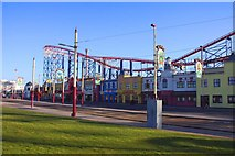 SD3033 : Blackpool Pleasure Beach by Steve Daniels