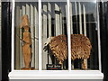 NY9864 : Wooden sheep, Woodburn House, Hill Street by Mike Quinn