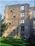 SK4663 : Old Hall ruins by Trevor Rickard