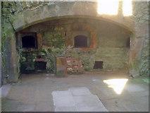SK4663 : Old Hall kitchen fireplace by Trevor Rickard