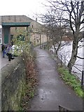 SE1537 : Airedale Way Footpath - Otley Road by Betty Longbottom