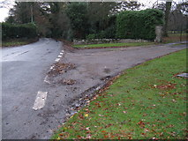 TQ1328 : Plumtree Cross Lane towards Barns Green by Dave Spicer