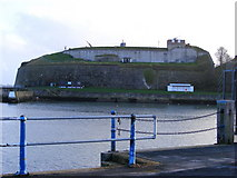 SY6878 : Nothe Fort - Weymouth by Gillian Thomas