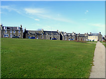 NJ2371 : The Square at Lossiemouth by Ann Harrison