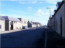 NJ2371 : Commerce Street at Lossiemouth by Ann Harrison