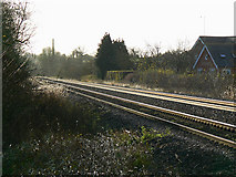 SU2763 : Railway to the south-west of England, near Crofton by Brian Robert Marshall