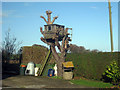 TQ9037 : Tree House off Ashford Road by Oast House Archive
