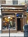 TQ2685 : Mr Simms Olde Sweet Shoppe, Hampstead High Street NW3 by Robin Sones
