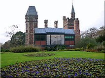 NZ2560 : Saltwell Towers, east side by Andrew Curtis