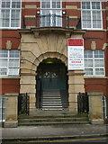 SD4364 : Cinnabar House, Entrance by Alexander P Kapp