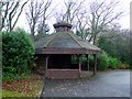 NZ2561 : Shelter, Saltwell Park by Andrew Curtis