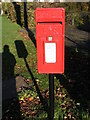 TM2972 : Village Pond Postbox by Geographer