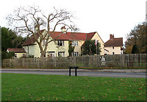 TM1686 : House by the junction of School Road and Green Lane by Evelyn Simak