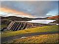 NN7228 : Lednock Dam by Dr Richard Murray