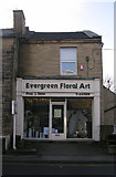 SE1734 : Evergreen Floral Art - Dudley Hill Road by Betty Longbottom