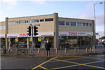 SE1734 : Tesco Express - Otley Road by Betty Longbottom