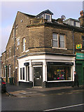SE1734 : NU hairdressers - Otley Road by Betty Longbottom