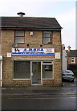 SE1734 : A.B. Sea Takeaway - Otley Road by Betty Longbottom