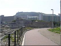 SY6874 : Portland Castle, taken from the Marina walkway by Sandy Scott