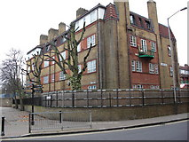TQ3680 : Wheatsheaf pub (site of)  344, Rotherhithe Street, London, SE16 by Chris Lordan
