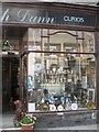 NT9928 : Curio shop, Wooler by Richard Webb