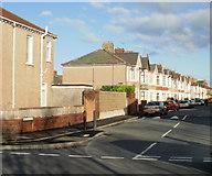 ST3186 : Milman Street, Newport by Jaggery