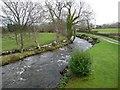SH4659 : Afon Gwyrfai, upstream from Pont Faen by Christine Johnstone