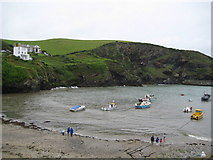 SW9980 : The Haven, Port Isaac, Cornwall by Richard Rogerson