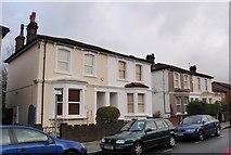 TQ2770 : Villas on Robinson Road, Collier's Wood by Derek Harper