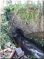 R1289 : Stream and bridge between Ennistymon and Knockbrack by Eirian Evans