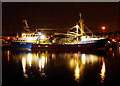 J5082 : Two mussel dredgers at Bangor by Rossographer