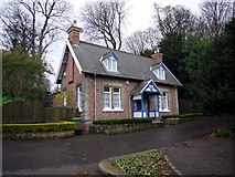 NZ2561 : Dene Lodge, Saltwell Park by Andrew Curtis
