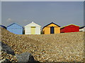 TQ7808 : Beach huts at West Marina, St. Leonards, East Sussex by nick macneill