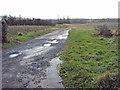 SO8240 : Track to Lower Hook Farm by Trevor Rickard